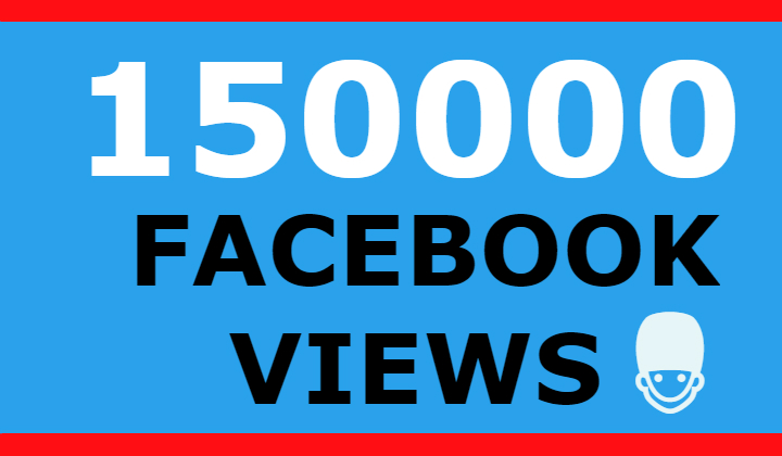 150000 facebook video views +5000 likes free