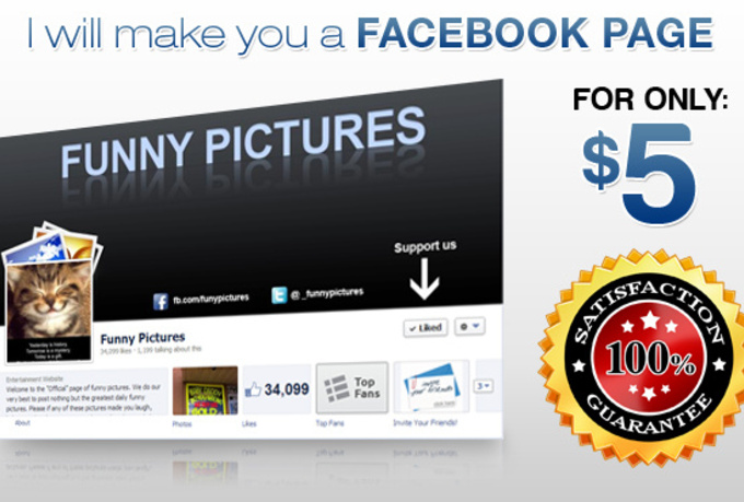 create a professional HD top Social smo Media presence for your company