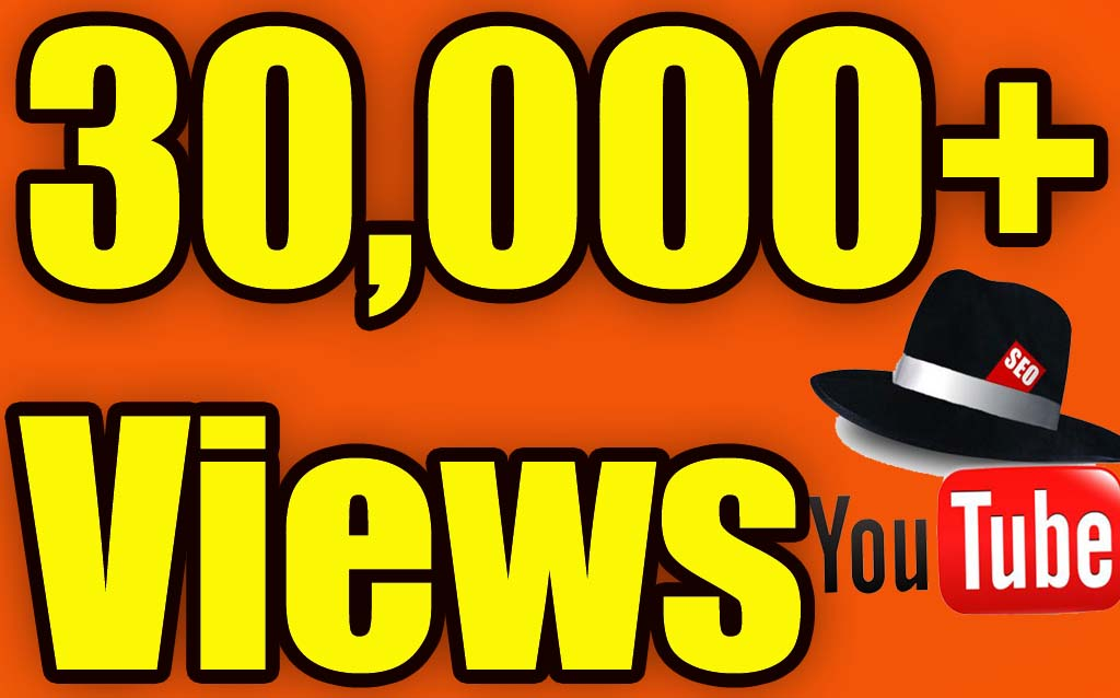 give 30,000+ YouTube Views Lifetime guarantee in 24 Hrs! -Great Service – Fast Delivery – High Quality – 100% SAFE
