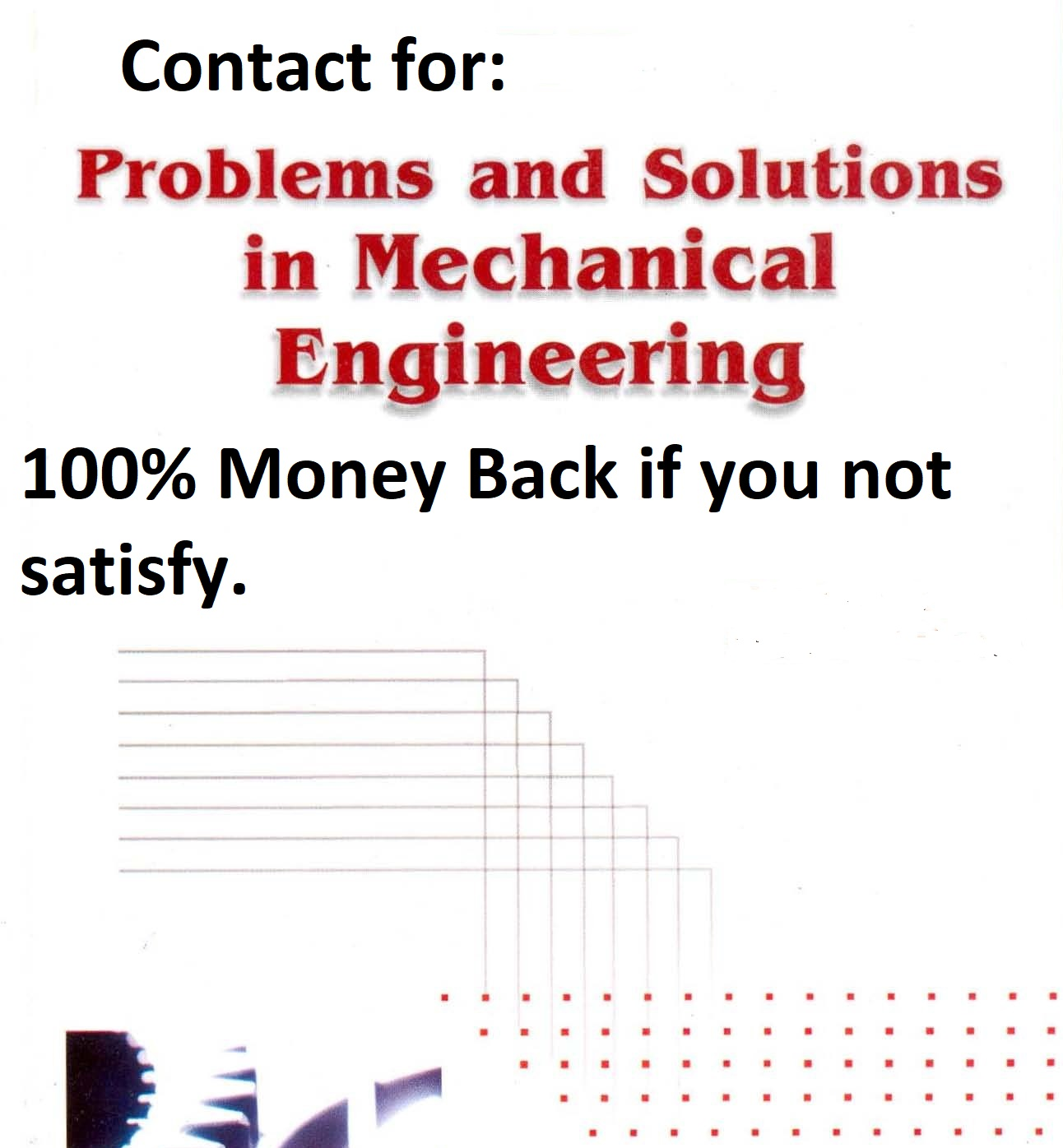 Help you in Mechanical Engineering Problems