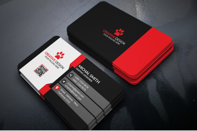 design double sided Business Card
