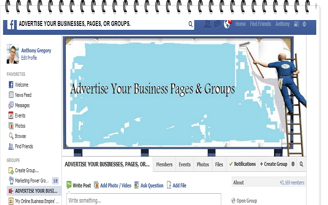 Promote Your Page Or Products/Offers To More Than 5 MILLION Real People On Over 100 Facebook Groups