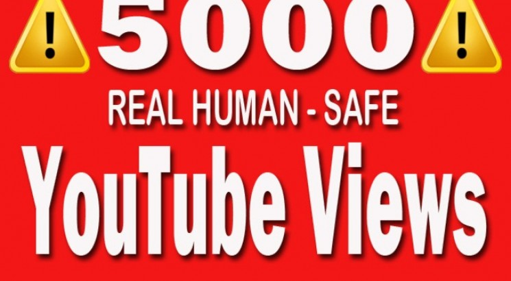 provide you 7000 youtube views