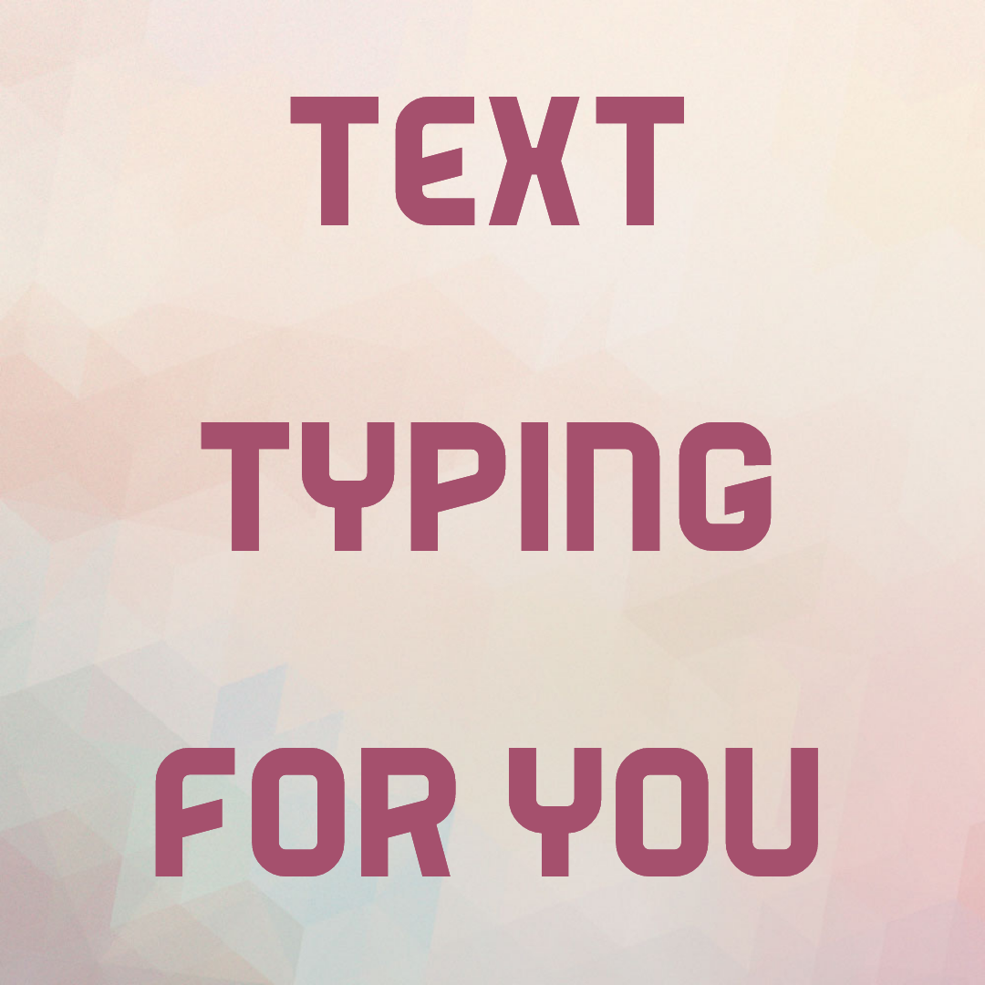 type any German or English text for you at any length