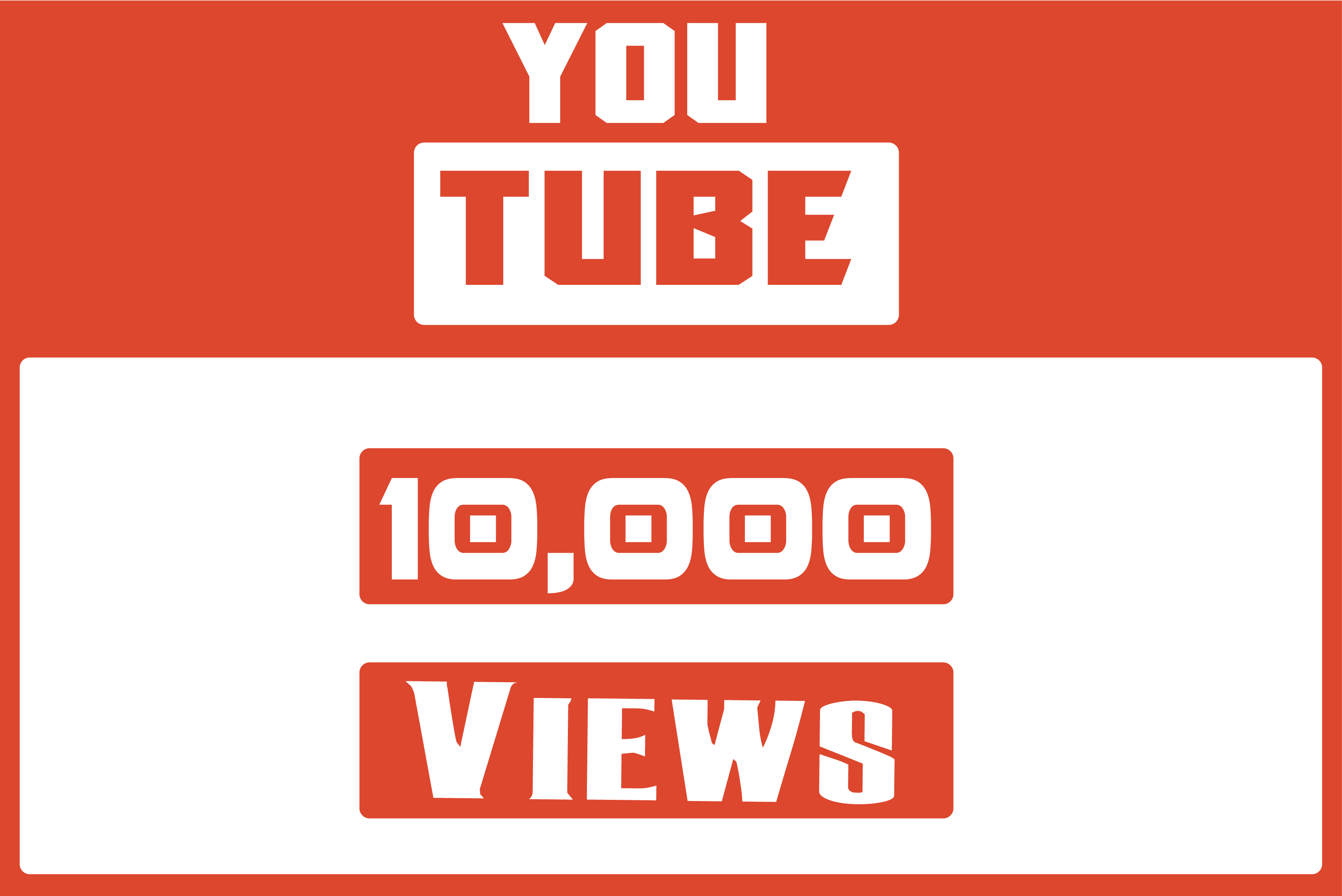 Get you 10,000 Youtube Views
