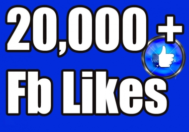 give 20,000 facebook fan page likes