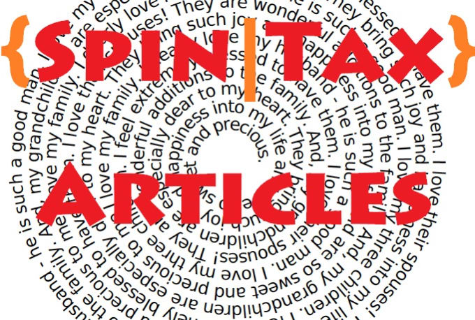 Manually Add Spintax Up To 750 word Article