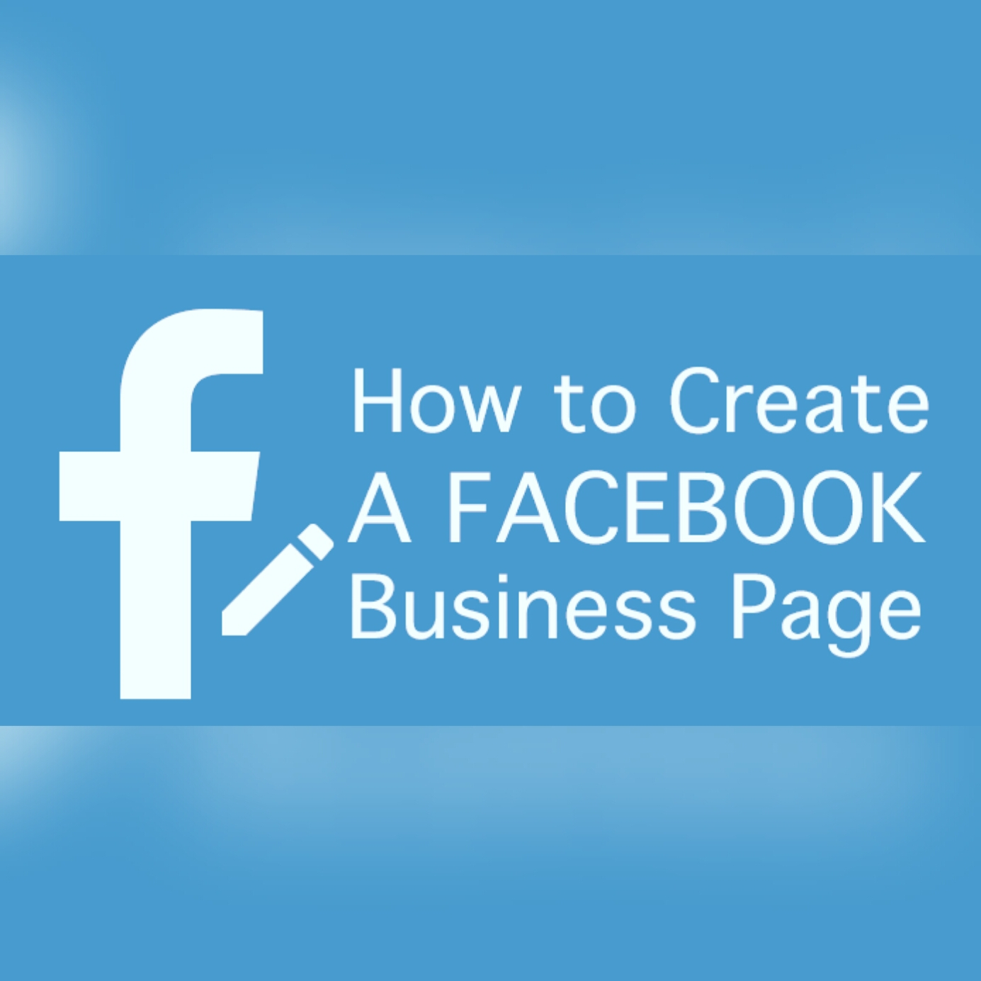 Creat a business Facebook page