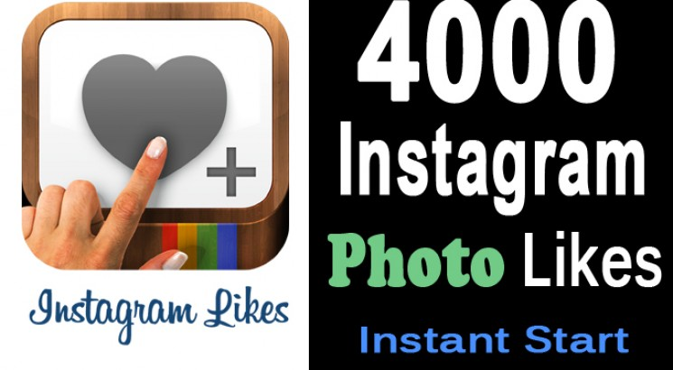 Give Real 4000 Instagram Photo Likes