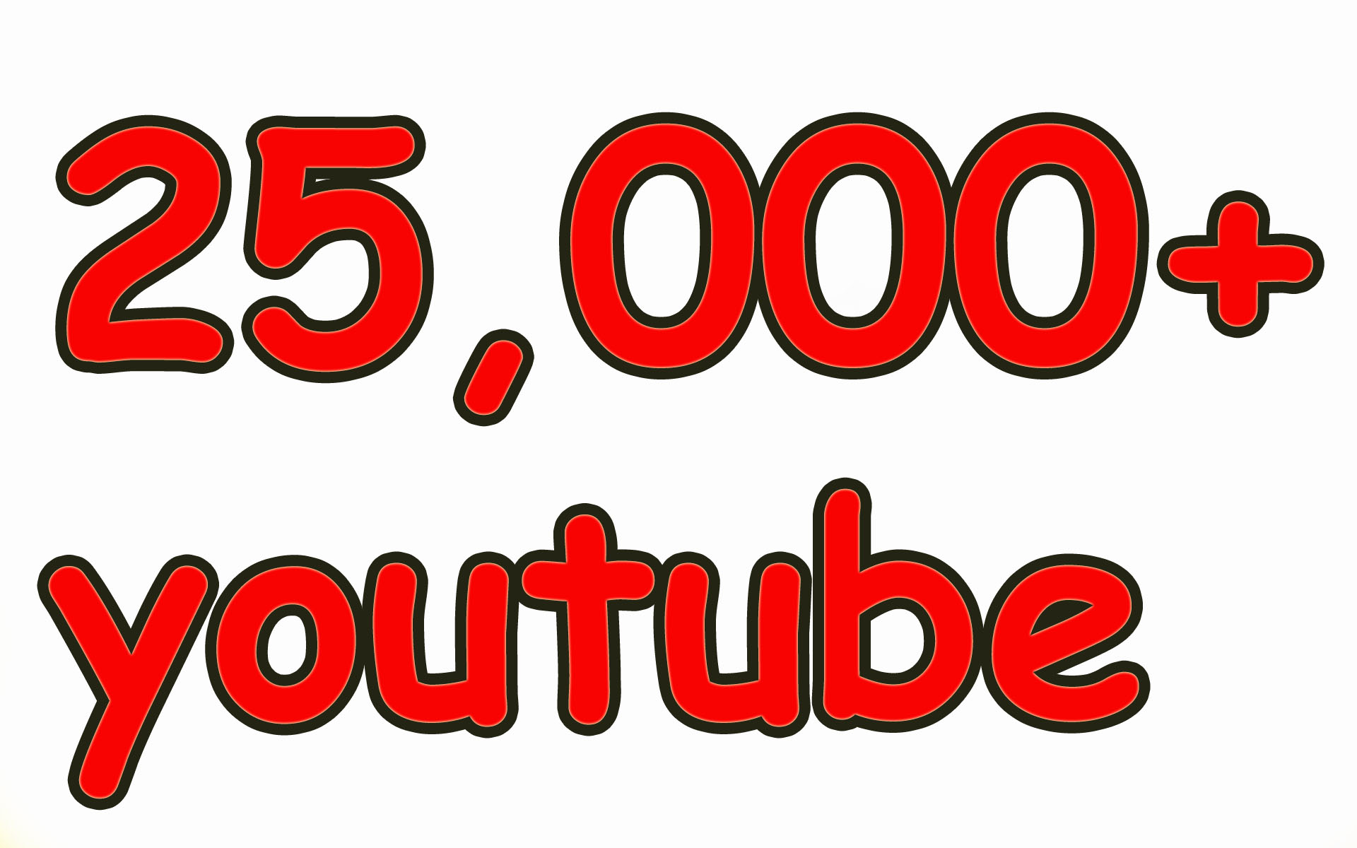 25,000 High Quality YouTube Views Fully Safe