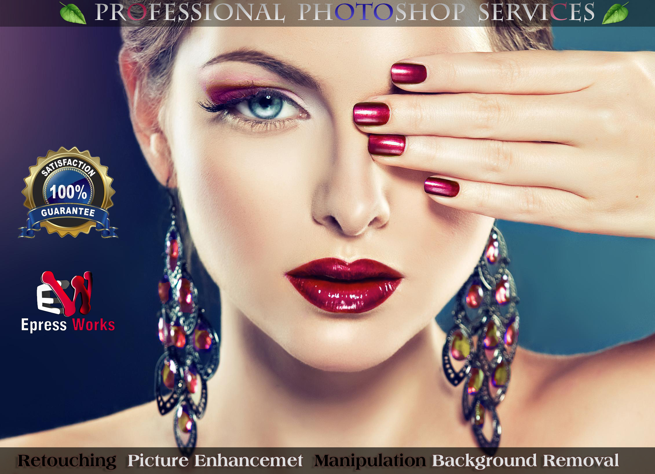 provide professional Photoshop Services