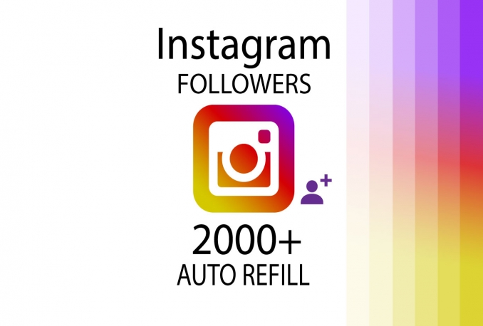 add 2000+ HQ Instagram FOLLOWERS to your account