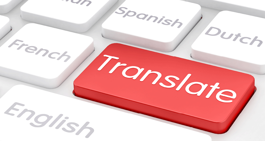 translate any given text to your preferred language as quickly as possible.