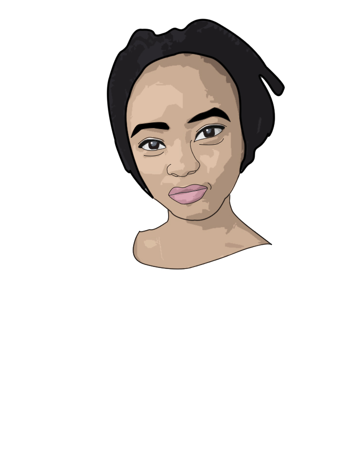 draw a vector portrait of you.
