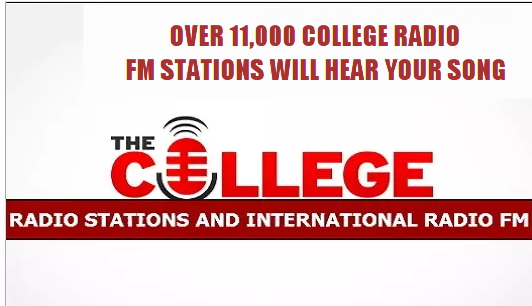 Send One Song To 8000 Fm Radio Stations,3000 College Radio