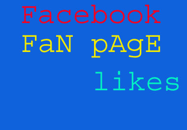 provide 1200+ Facebook Page Likes