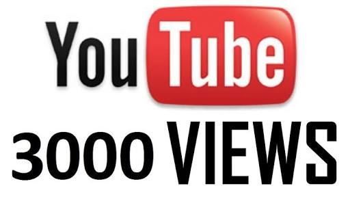 Give you 3000 Real YouTube views Non Drop