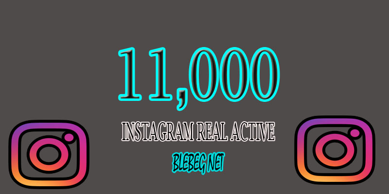 Provide Permanently 11.000 Instagram Like Real Active