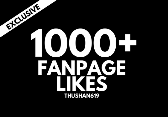 Add 1000 Permanent Page Likes