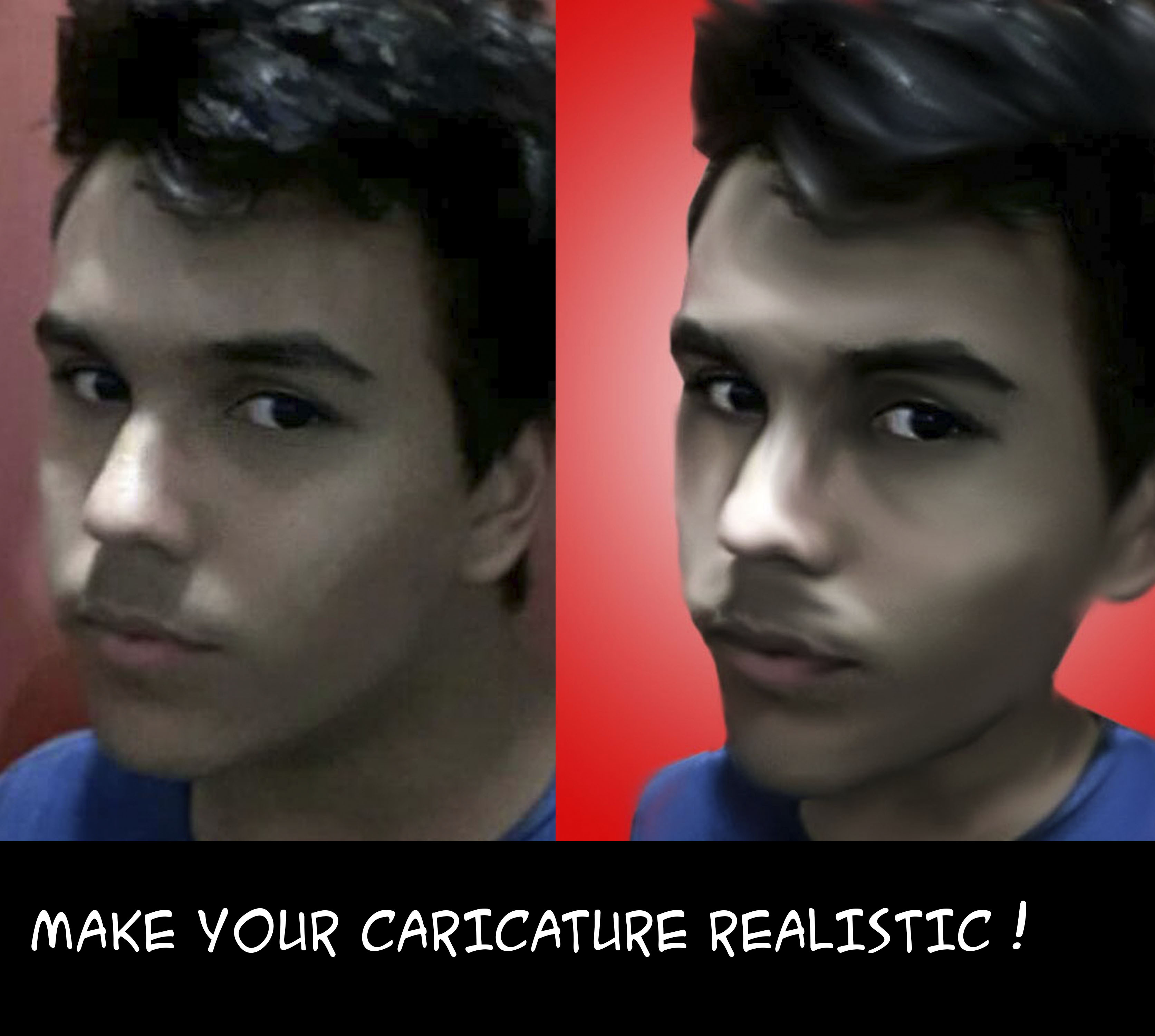 turn your photo into a fun CARICATURE