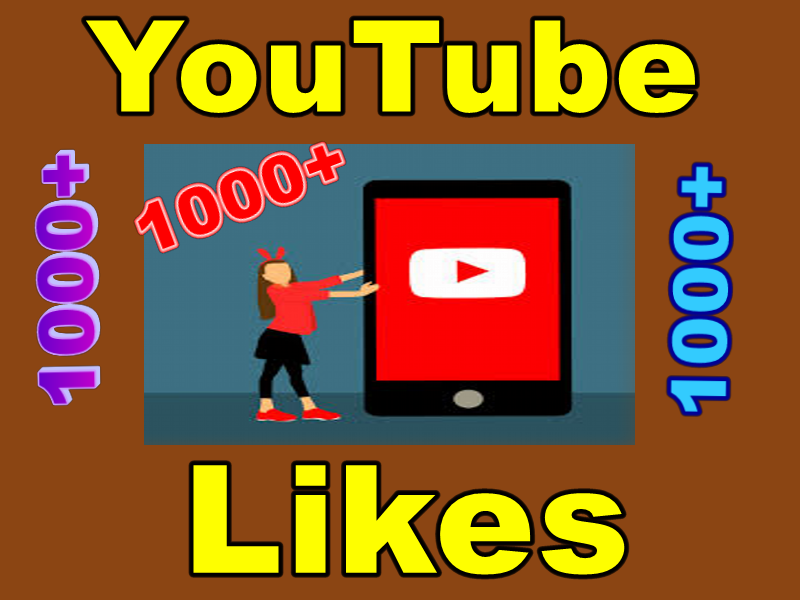 Add real 1000+ permanent YouTube Likes