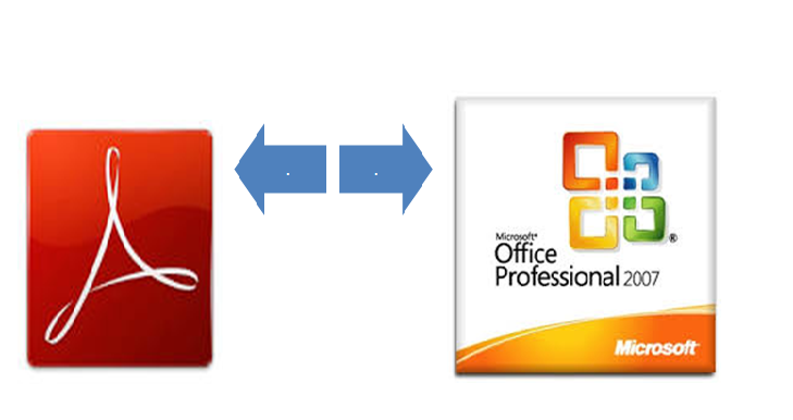 convert your pdf to ms word/excel/powerpoint (and vice versa)