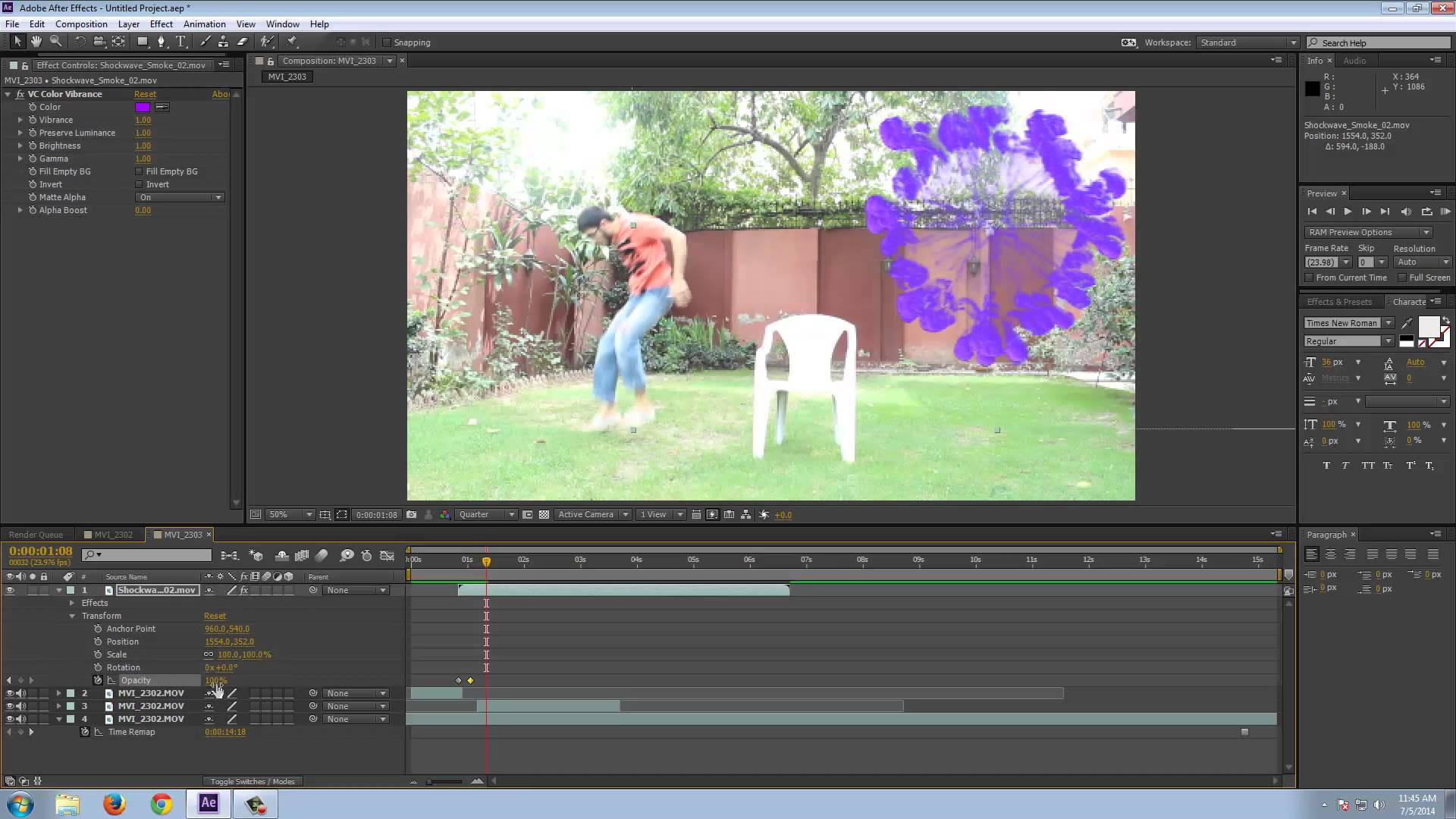 add video effects to your video