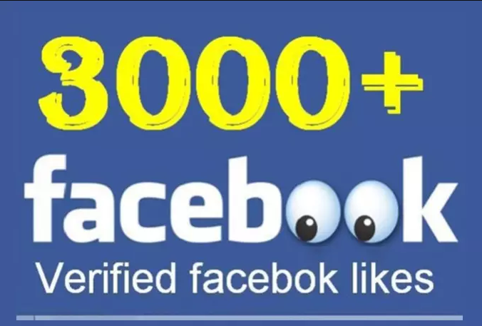 give you 3000 facebook likes for pages
