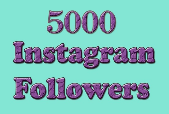 give you 5000 Instagram Followers