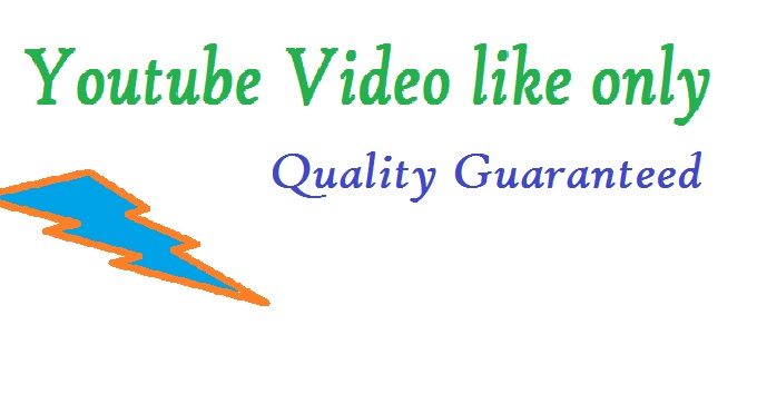 give non drop and real 1500 youtube video likes