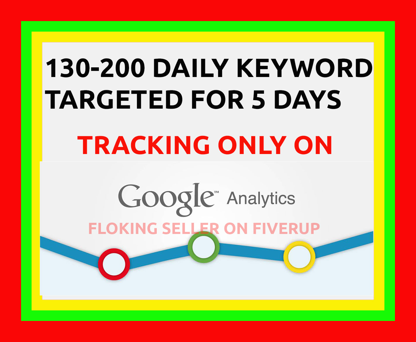 ORGANIC KEYWORD TARGETED FOR 5 DAYS