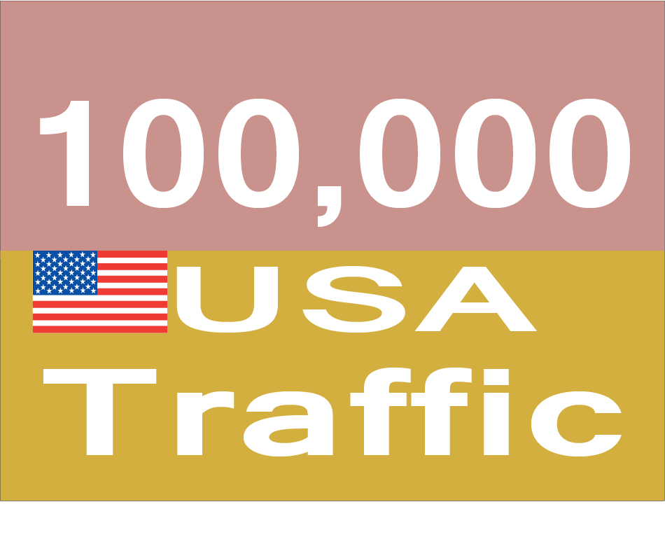 Get 100,000 USA Traffic to your site with proofs