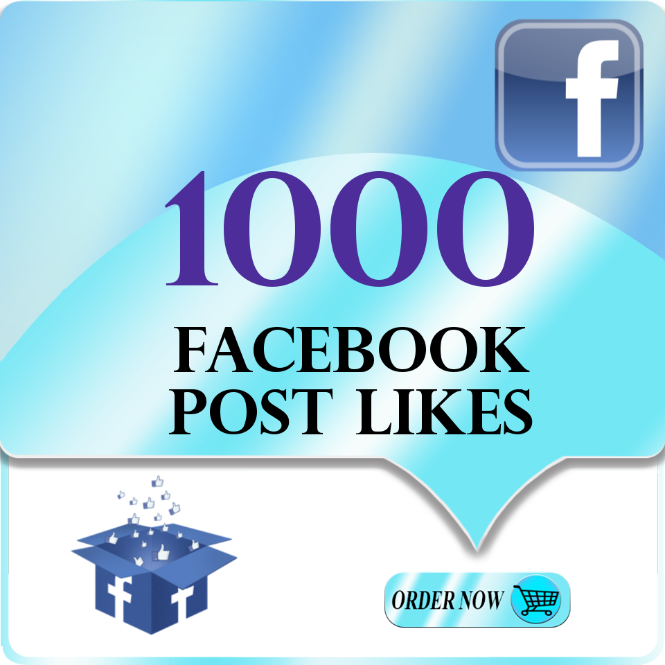 provide 1000 + Facebook Post Likes