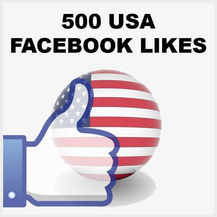 500+ USA Facebook Likes Very Active and SuperHigh User Engagement!