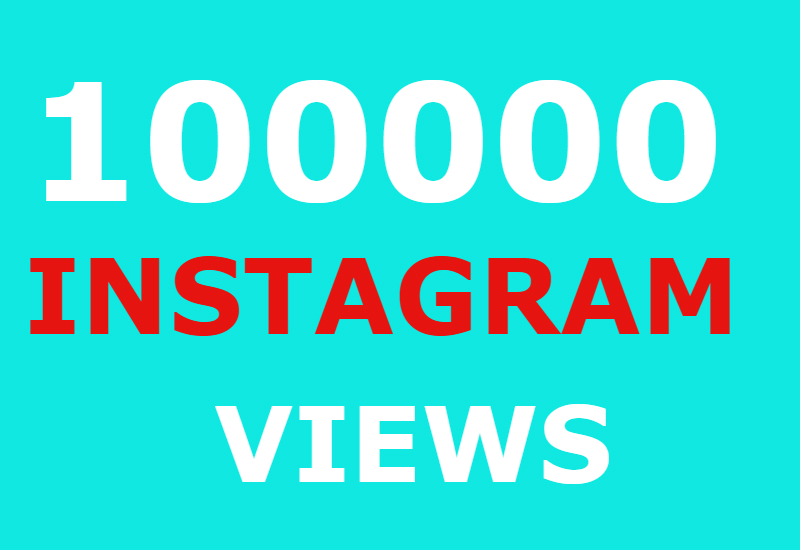 100000 instagram views and 5000 instagram likes