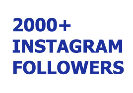 2000+ Permanent Instagram Followers or 10,000 Likes
