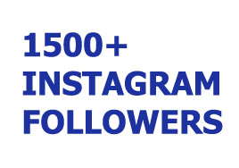 1500+ Permanent Instagram Followers or 8,000 Likes