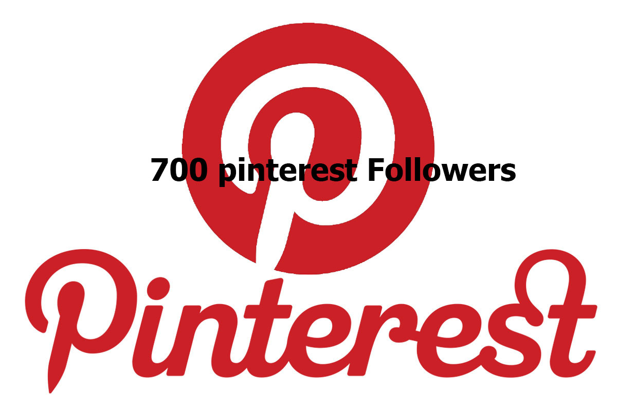 700+Permanent  Pinterest Followers or Pin Likes Or Repin