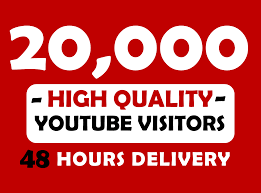 Provide 20,000+ YouTube Views Non Drop To Your Video