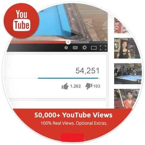 add 1500 views publicly on Youtube