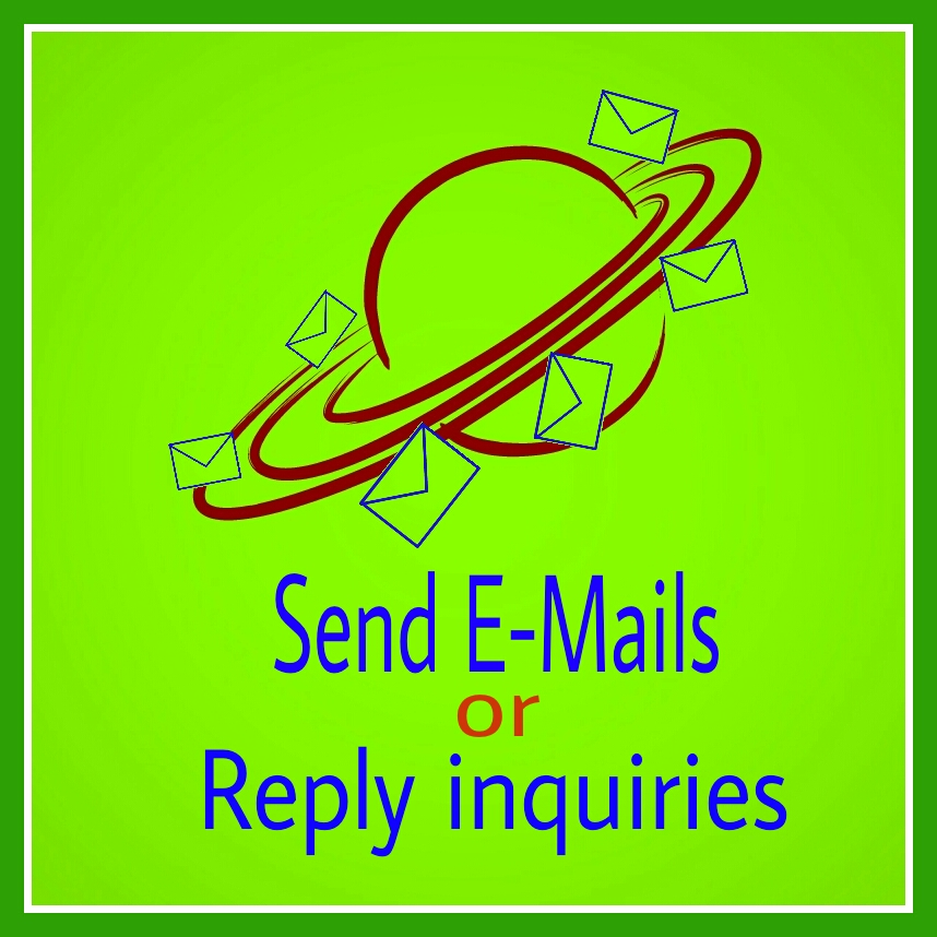 send your emails or reply inquiries
