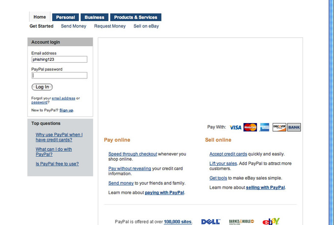 integrate paypal in you site