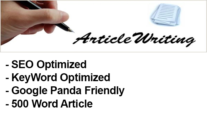 write TWO Articles 450 to 500 words each