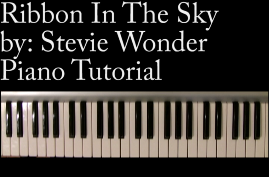 Create a video piano lesson on playing your favorite song