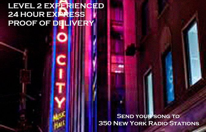 send your song to 350 New York Radio Stations