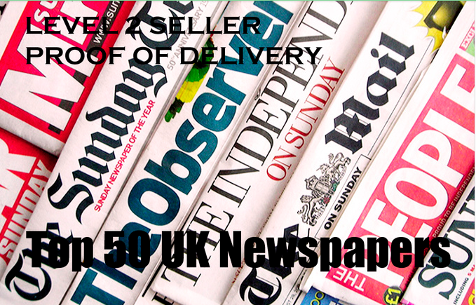 send your Story to the Top 50 UK Newspapers