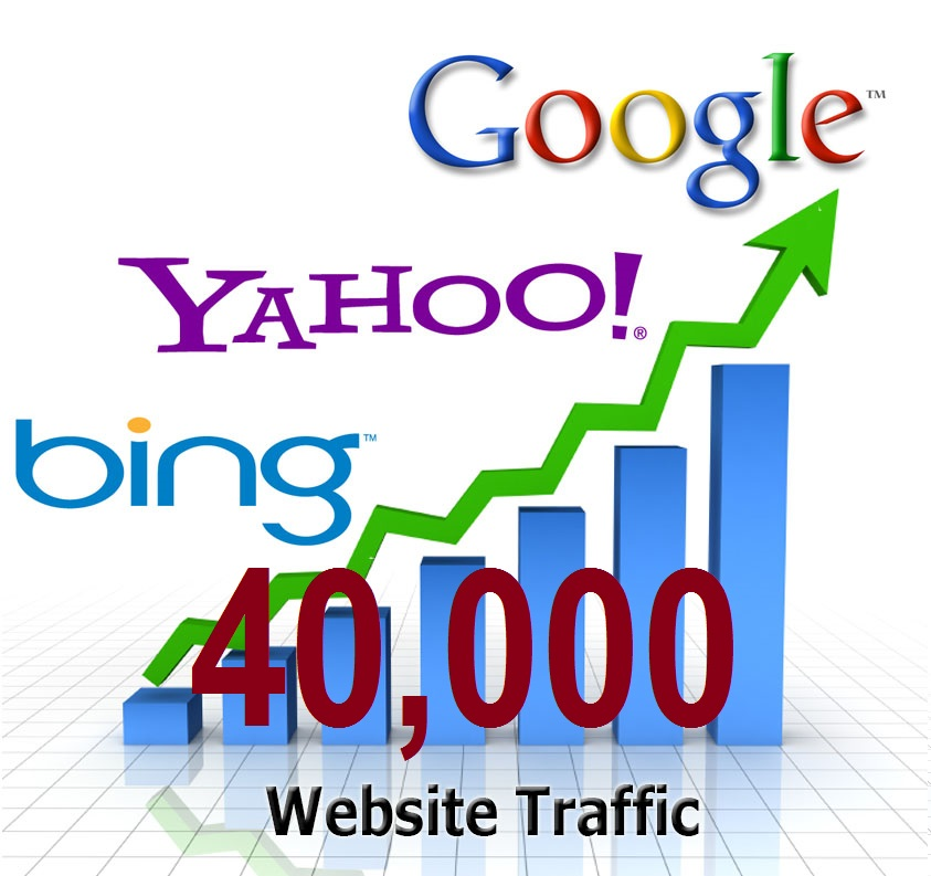 Send 40000 REAL Traffic human visitors to your website/blog/link
