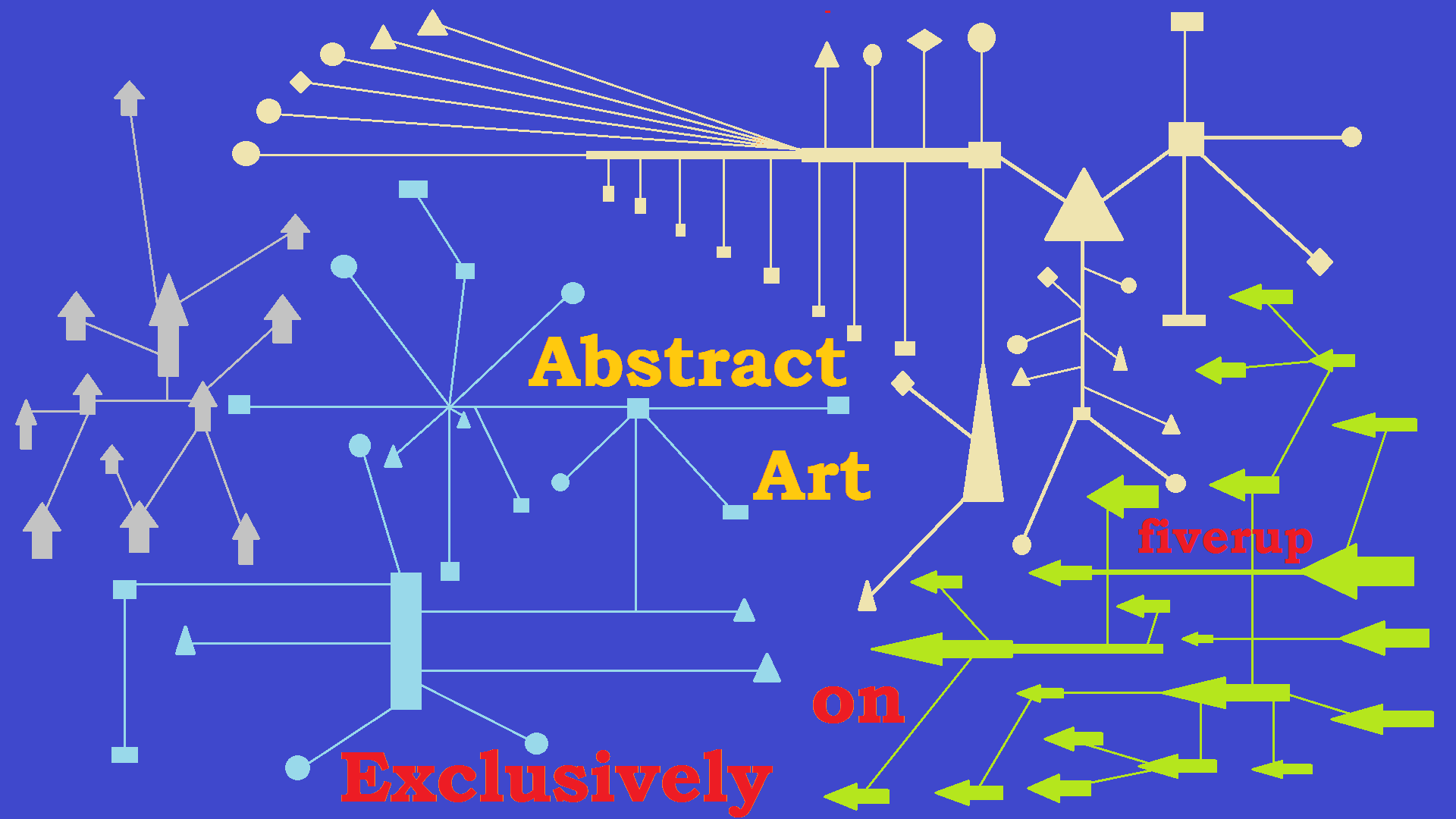 put your message to my abstract art