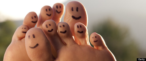 provide you with a picture of the reflexology of the feet