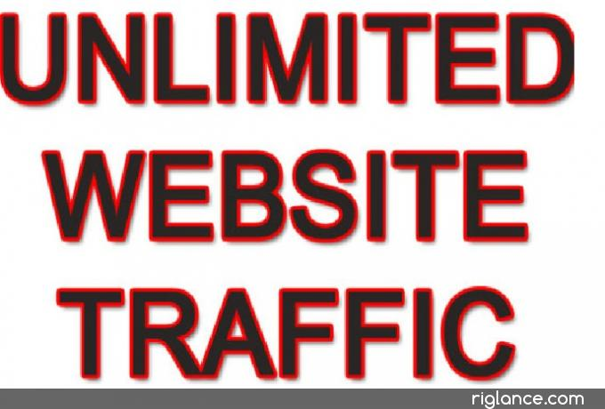 drive unlimited real website traffic for 2 months